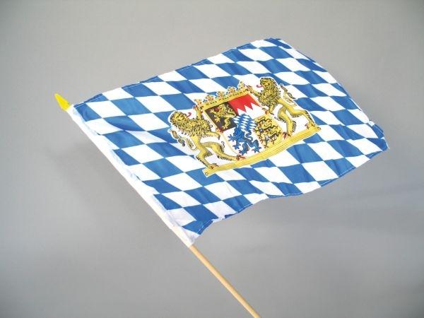 B fahne am stab bayern for Restposten dekoartikel